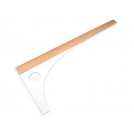 Krejčovské pravítko, příložník, 60 cm