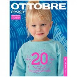 Časopis Ottobre design - 2020/1, Kids, jarní vydání, titulní strana