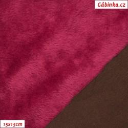 Warmkeeper - Hnědý-fialový 2420/772, šíře 150-155 cm, 10 cm