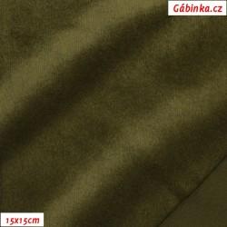 Warmkeeper - Khaki 2420/850, šíře 150-155 cm, 10 cm