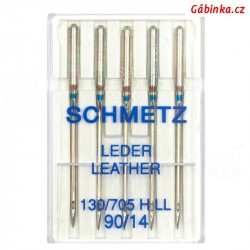 Jehly Schmetz - LEATHER 130/705 H LL, 90/14, 5 ks