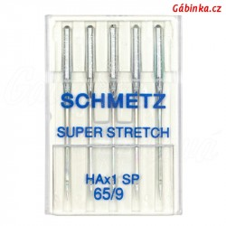 Jehly Schmetz - SUPER STRETCH HAx1 SP, 65/9, 5 ks