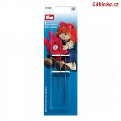 Jehly na panenky a plyšové hračky PRYM 131 140 - 3 ks v balení - balení