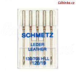 Jehly Schmetz - LEATHER 130/705 H LL, 120/19, 5 ks