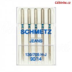 Jehly Schmetz - JEANS 130/705 H-J, 90/14, 5 ks