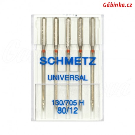 Jehly Schmetz - UNIVERSAL 130/705 H, 80/12, 5 ks