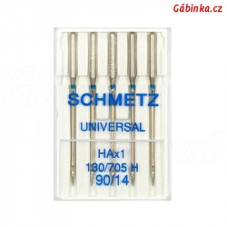 Jehly Schmetz - UNIVERSAL HAx1 130/705 H, 90/14, 5 ks