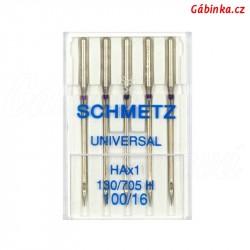 Jehly Schmetz - UNIVERSAL HAx1 130/705 H, 100/16, 5 ks