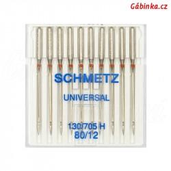 Jehly Schmetz - UNIVERSAL 130/705 H, 80/12, 10 ks