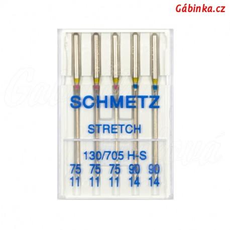 Jehly Schmetz - STRETCH 130/705 H-S, 75+90, 5 ks