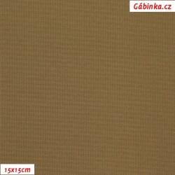 Kočárkovina, střední hnědá, MAT 248, šíře 160 cm, 10 cm, Atest 1