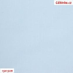 Plátno - světlounce modré, 145 g/m2, šíře 150 cm, 10 cm, ATEST 1