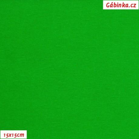 Náplet hladký 1:1, zelený, C - 061, ATEST 1, 15x15 cm