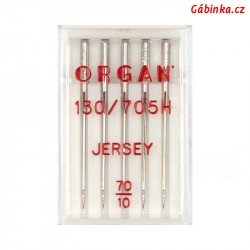 Jehly ORGAN - JERSEY 130/705 H SUK, 70/10, 5 ks