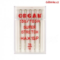 Jehly ORGAN - SUPER STRETCH HAx1 SP, 75/11, 5 ks