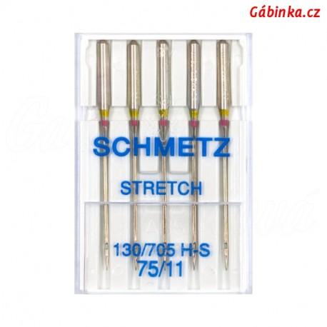 Jehly - Schmetz STRETCH 130/705 H-S, 75/11, 5 ks