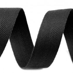 Keprovka BA/PAD - černá, Atest 1, šíře 1,6 cm, 1 m