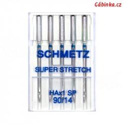 Jehly Schmetz - SUPER STRETCH HAx1 SP, 90/14, 5 ks