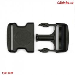 Trojzubec plastový černý - 5 cm