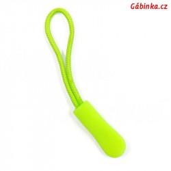 Taháček na jezdce - Neon limetkový, 66 mm, 1 ks