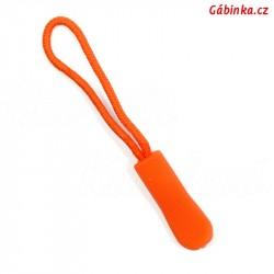 Taháček na jezdce - Oranžový, 66 mm