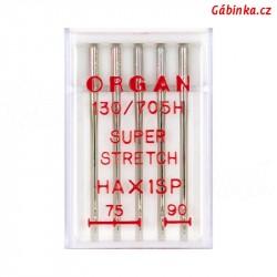 Jehly ORGAN - SUPER STRETCH HAx1 SP, 75+90, 5 ks