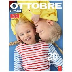 Časopis Ottobre design - 2020/3, Kids, letní vydání - titulní strana