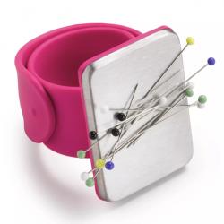 Magnetický jehelníček na ruku PRYM LOVE 610 283 - růžový, 1 ks