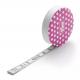 Krejčovský samonavíjecí metr PRYM LOVE 282 714 - růžový s puntíky, 150 cm, 1 ks