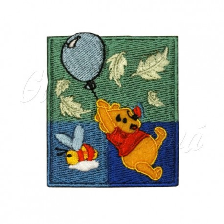 Nažehlovačka, Disney, Medvídek Pú s balónkem