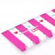 Ruční plastové měřítko PRYM LOVE 610737, růžové, 21 cm, 1 ks
