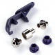Přípravky děrovací PRYM 673 125 pro kleště Vario o průměru 3, 4, 8 mm, 1 balení