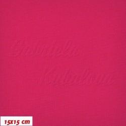 Kočárkovina LESK 044 - Malinová, šíře 160 cm, 10 cm, 2. jakost