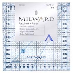 Pravítko na patchwork MILWARD 215 2113, 16x16 cm