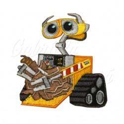 Nažehlovačka, Disney, VALL-I (WALL-E) se zvednutou rukou