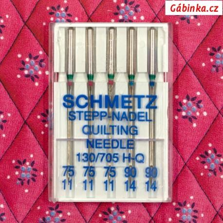 Jehly Schmetz - QUILTING 130/705 H-Q, 75+90, 5 ks