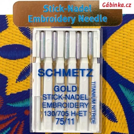 Jehly Schmetz - METALLIC 130 MET, 80/12, 5 ks