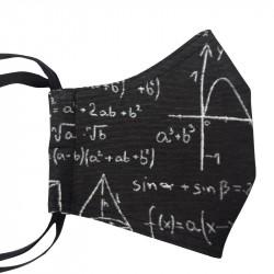 Šitá rouška - Matematika na černé