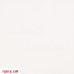 Kočárkovina LESK WH - Bílá, 2. jakost, šíře 160 cm, 10 cm