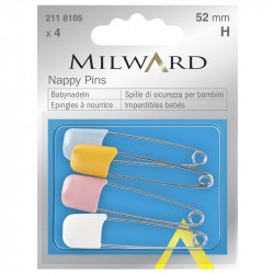 Bezpečnostní špendlíky Milward 211 8105, 4 ks