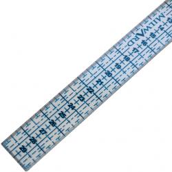 Pravítko na patchwork MILWARD, 3x30 cm