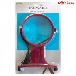 Zvětšovací sklo - lupa 10,5 cm MILWARD 251 1501, 1 ks