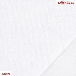 Úplet se stříbrem, funkční - bílý, 5x5 cm