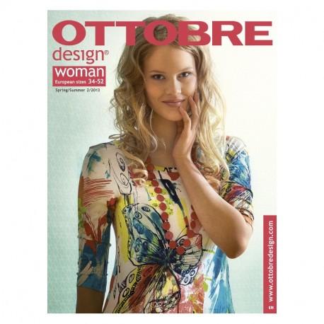 Ottobre design Woman, 2013-02, titulní strana