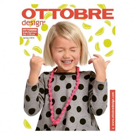 Ottobre design kids, 2014-01, titulní strana