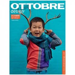 Časopis Ottobre Design Kids 2014-6, titulní strana