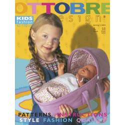 Časopis Ottobre design - 2003/1, Kids, anglicky, jarní vydání - titulní strana