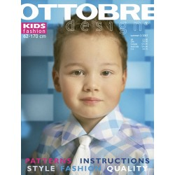 Časopis Ottobre design - 2003/2, Kids, anglicky, letní vydání - titulní strana