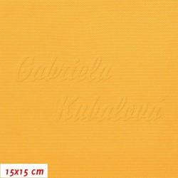 Kočárkovina, LESK 017 sytě žlutá, 15x15cm