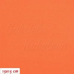 Kočárkovina, oranžová, LESK 005, šíře 160 cm, 10 cm, 2. jakost